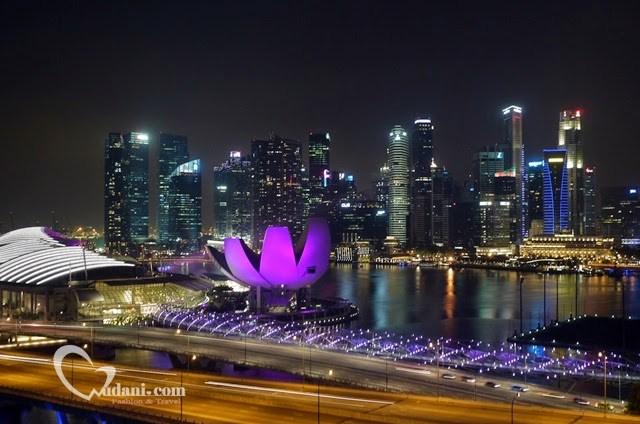 【2014新加坡】SINGAPORE FLYER 給你難忘絕美浪漫夜景 @吳大妮。Annie