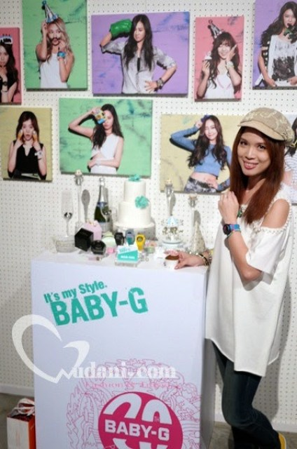 【活動】CASIO BABY-G 20週年~It's my style BABY-G Girls' party @吳大妮。Annie