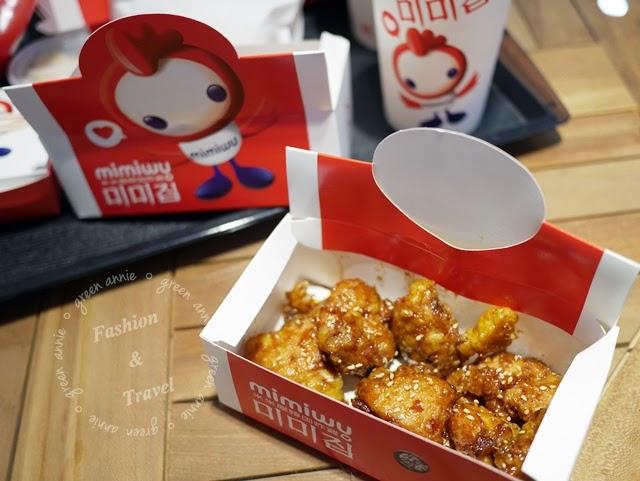 【美食】米米屋韓式炸雞~大妮在台南夢時代的初體驗 @吳大妮。Annie