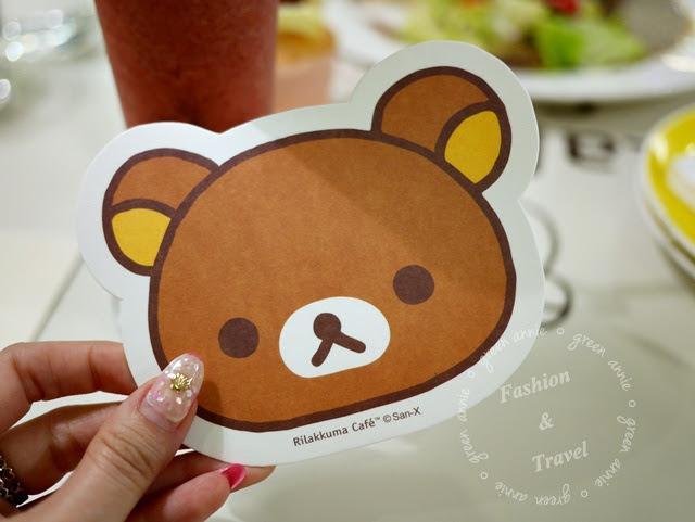 【主題餐廳】Rilakkuma Café 拉拉熊咖啡~療癒人心可愛破表*台北東區 @吳大妮。Annie