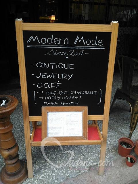 Modern Mode & Modern Mode Café濃濃復古氣息~搬至迪化街 @吳大妮。Annie