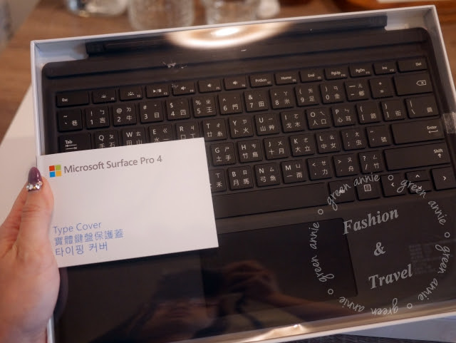 【3C開箱】熱呼呼~微軟 Microsoft SURFACE PRO 4 (SP4)實機開箱~簡單開箱無實測 @吳大妮。Annie