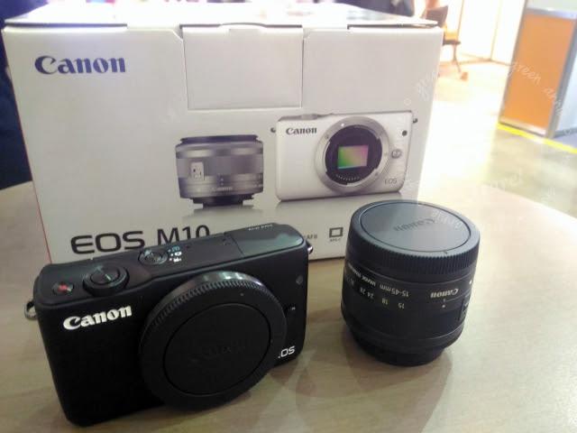 【M10開箱】 無反單眼Canon EOS M10 簡單開箱+實拍記錄~操作小心得 @吳大妮。Annie