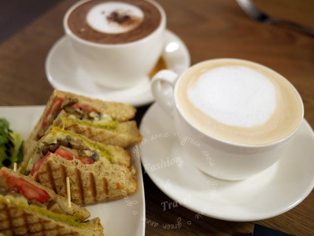 【台北咖啡廳】里山咖啡~有WIFI、有插座、可包場辦活動~臨近捷運松江南京 @吳大妮。Annie