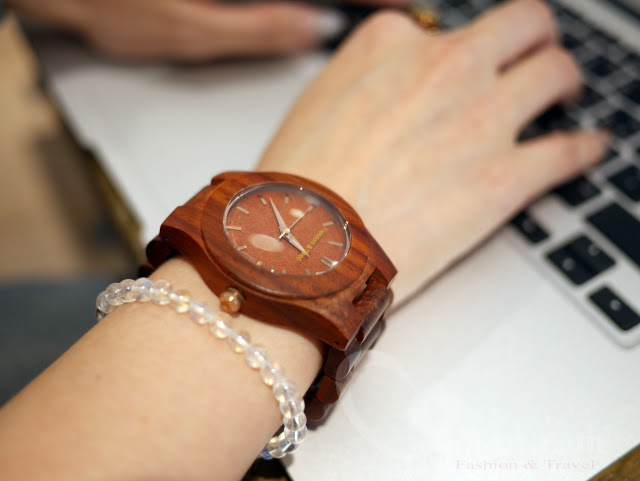 【時尚配件。手錶】Freedom&Seed日本手工高級木製腕錶~讓人穿搭質感再提升 @吳大妮。Annie