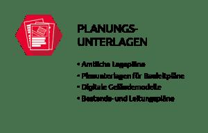 Planungsunterlagen