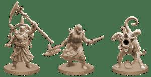 Drei der Bösewichte, die den Helden bedrohen... Horrible Games
