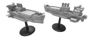 Rednerin der Luftschiffmodelle