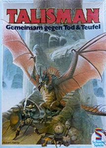 Erste deutsche Ausgabe von Talisman bei Shcmidt Spiele