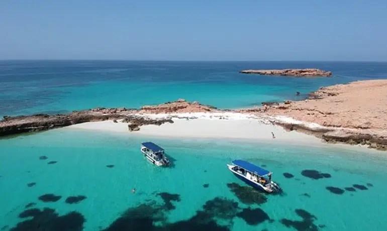 جزر الديمانيات في مسقط