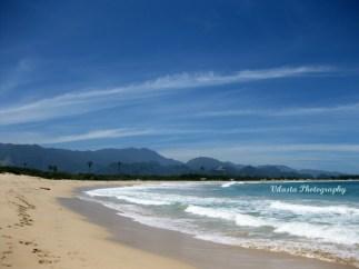 white sand beach of lampu'uk