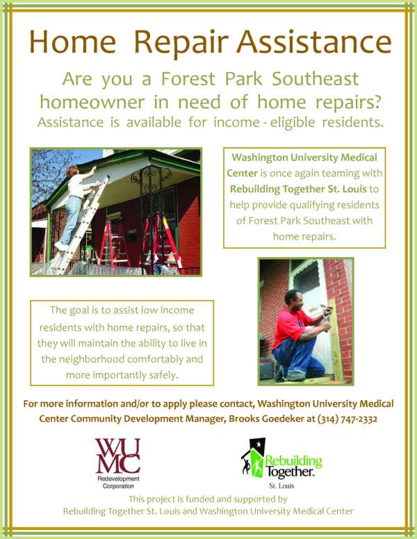 Rebuilding Together Flier 2009