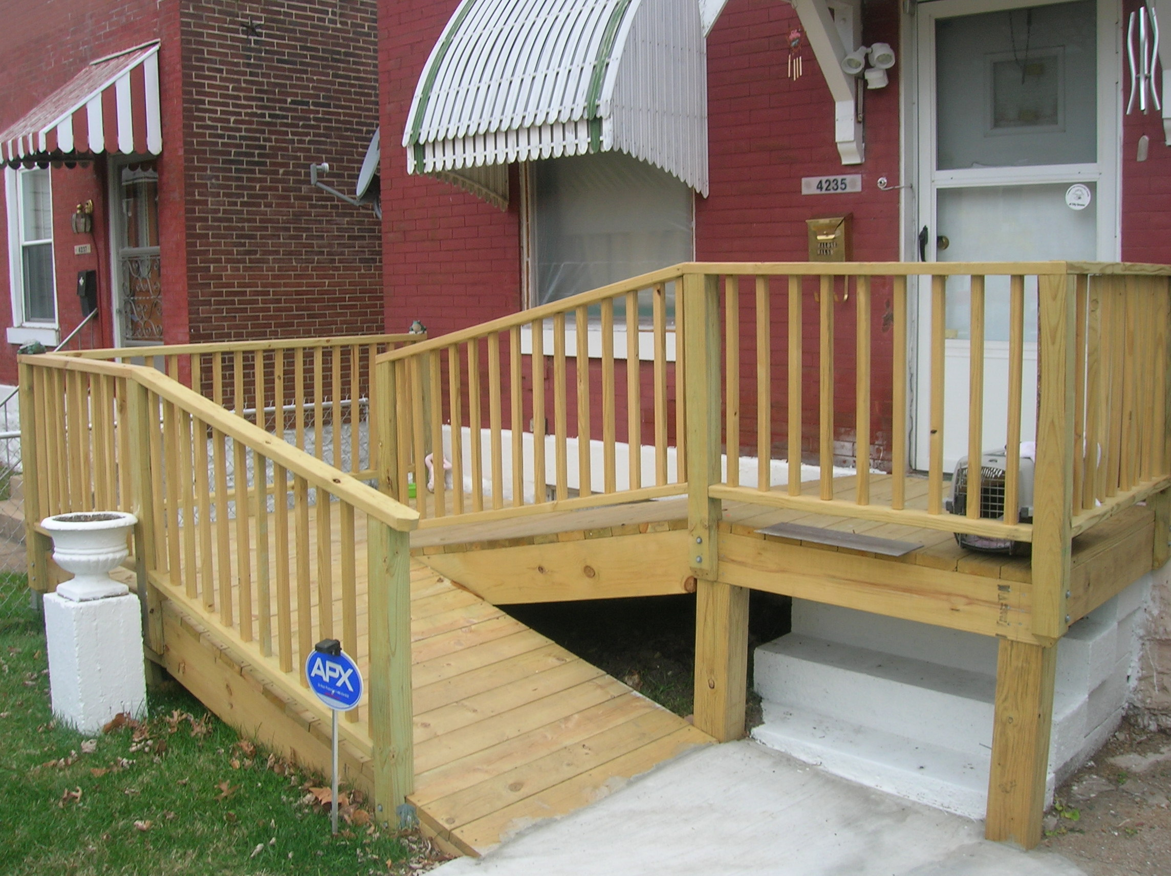 Wheelchair Ramp Built For FPSE Resident Medical Center