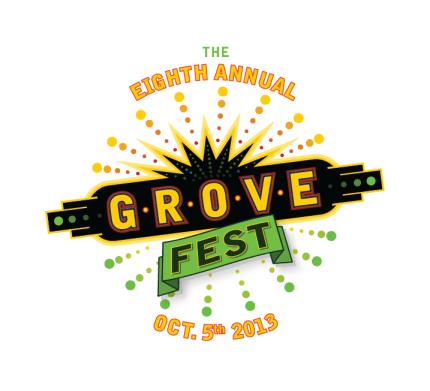 GroveFest 2013 Logo