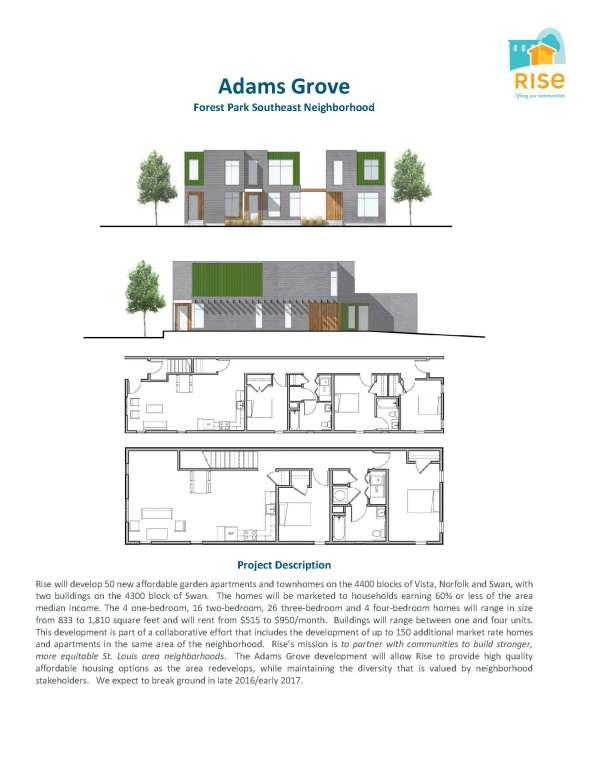 Adams Grove Development Profile