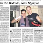 Erst die Medaille dann Olympia - Oliver Hasler