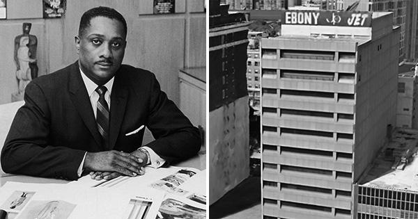 John Johnson, founder of Ebony and Jet