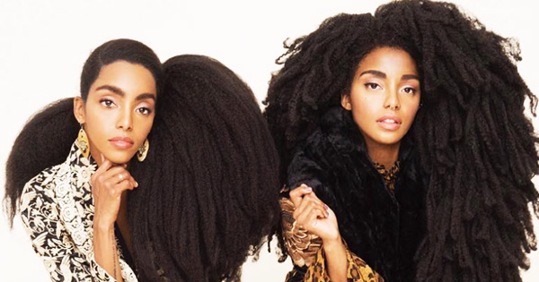 Cipriana and TK Quann, founders of Urban Bush Babies