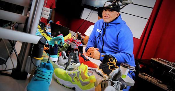 Rocky Parrish, founder of RockDeep sports apparel