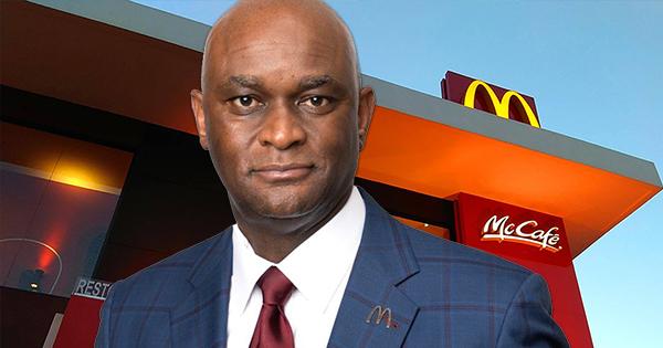 Robert Pyles, African American McDonald's franchise owner
