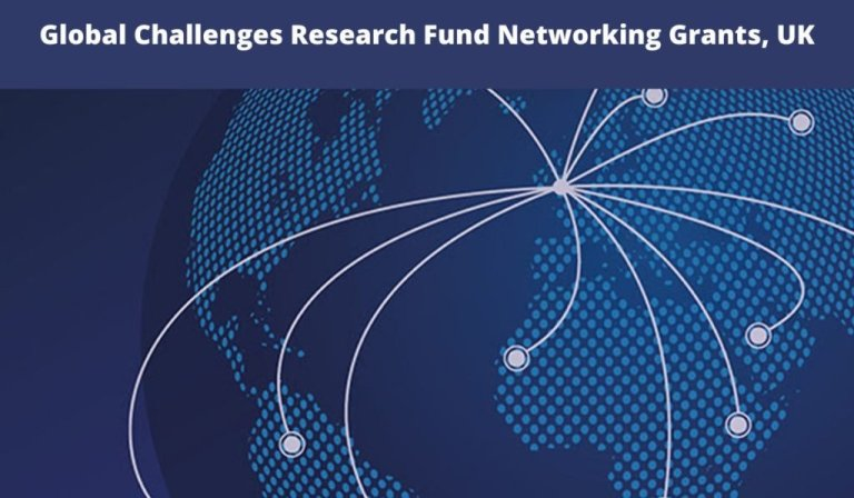 Global Challenges Research Fund Networking Grants 2020
