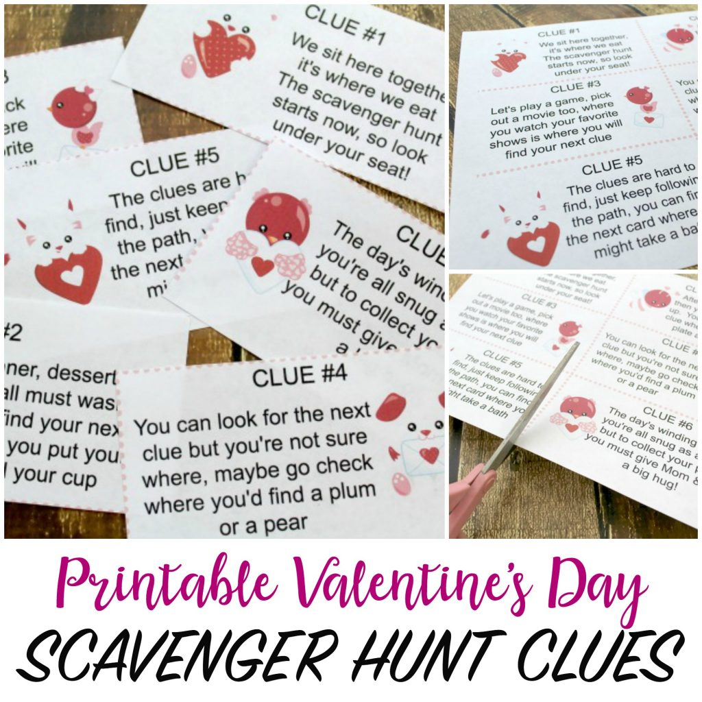 50 Printable Valentine Cards For Kids