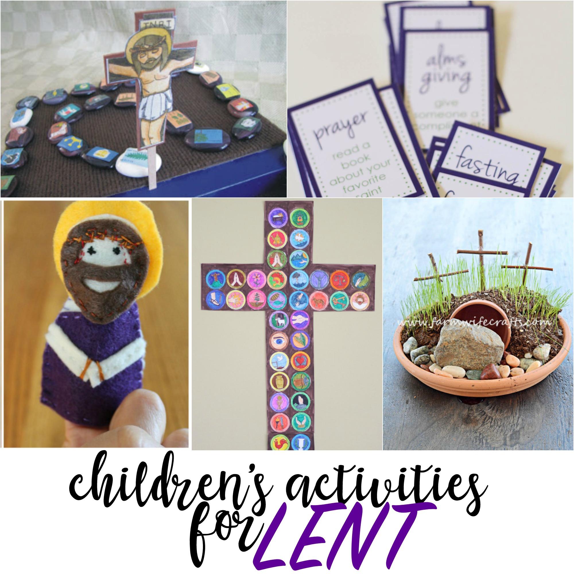 Top Children S Books And Activities For The Lenten Season