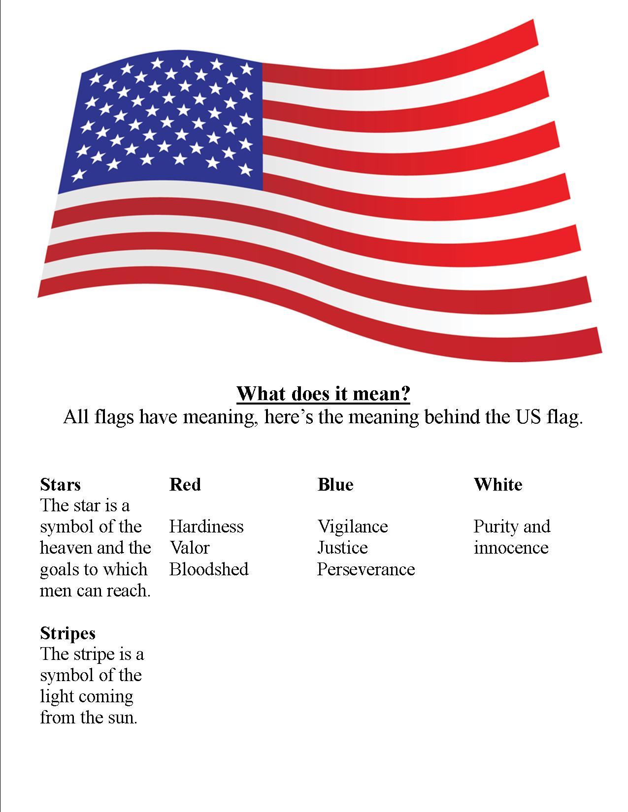 American Flag Class