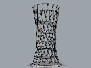 Rhino Modeling – Tower