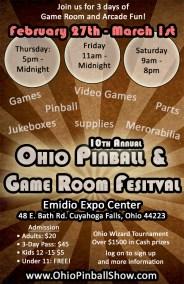 Pinball Festival Promo Poster