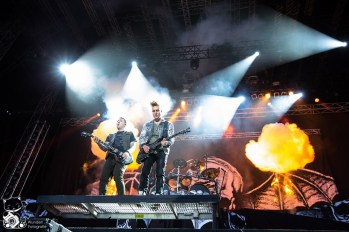 Avenged Sevenfold Nova Rock 2014