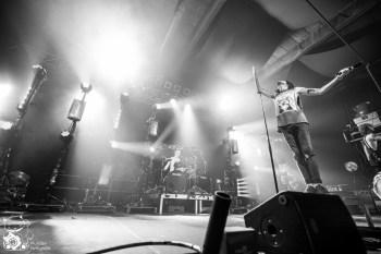 Asking Alexandria live in der Live Music Hall Köln. Foto: Steffie Wunderl