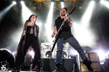 Evanescence live im Palladium Köln. Foto: Steffie Wunderl