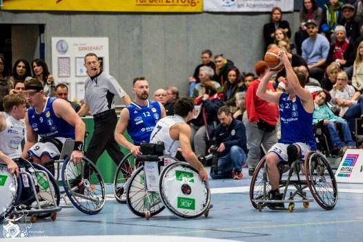 Saison 2017/18: RSV Lahn-Dill vs. BG Baskets Hamburg
