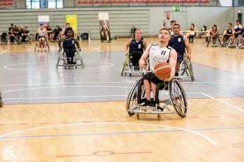 Das Team Hessen gewinnt das Finalspiel des Junioren Länderpokals 2018 mit 33:49 gegen das Team Nord.