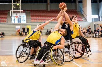 Im zweiten Halbfinale des Junioren Länderpokals 2018 sichert sich das Team Hessen gegen die Auswahl aus NRW mit 49:39 den Einzug ins Finale.