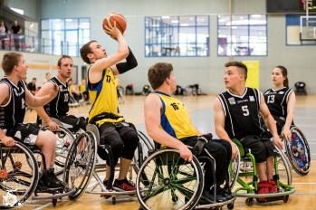 Das Team Baden Württemberg/Rheinland-Pfalz entscheidet das Spiel um Platz 3 gegen das Team NRW mit 44:32 für sich.