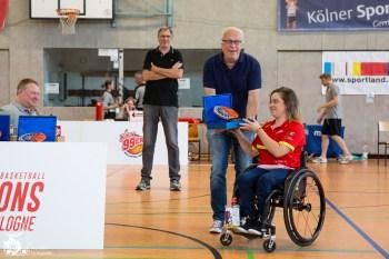 Die Siegerehrung der Damen des ersten Nation Cup Cologne. Köln, Deutschland.