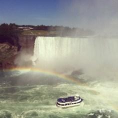Niagara Falls rainbox - Wundertute