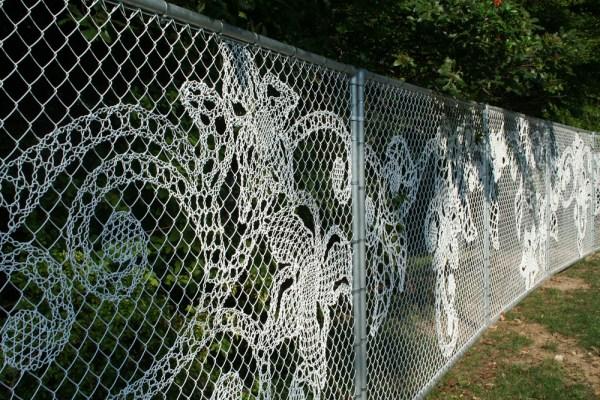joep verhoeven - lace fence - philzdelphie