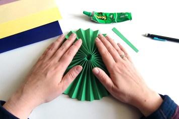DIY - Cocarde papier rosace - Wundertute