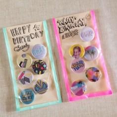 badges birthday - wundertute