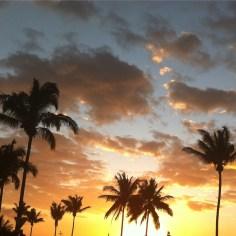 coucher de soleil La Reunion - Wundertute