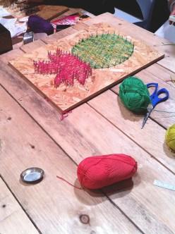 atelier diy tableau au fil ananas lille - wundertute