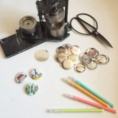 atelier badges vacances lille - wundertute
