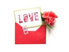 DIY - carte confetti love - Wundertute