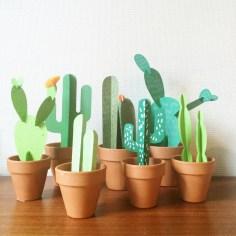 Atelier cactus en papier - wundertute