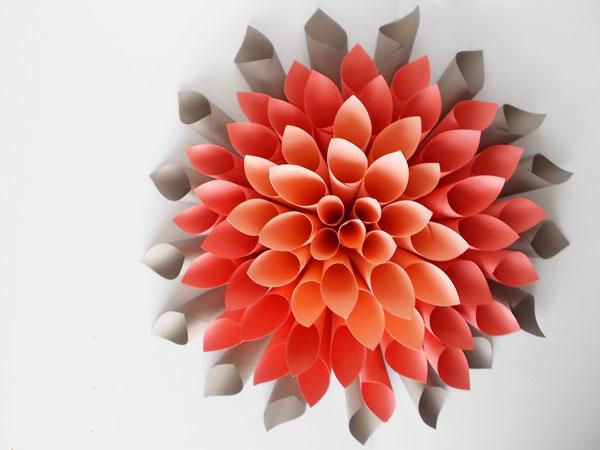 love pomegranate house - dahlia couronne