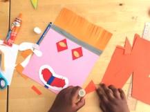 atelier enfant masque papier - wundertute