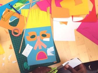 atelier masque papercut - wundertute